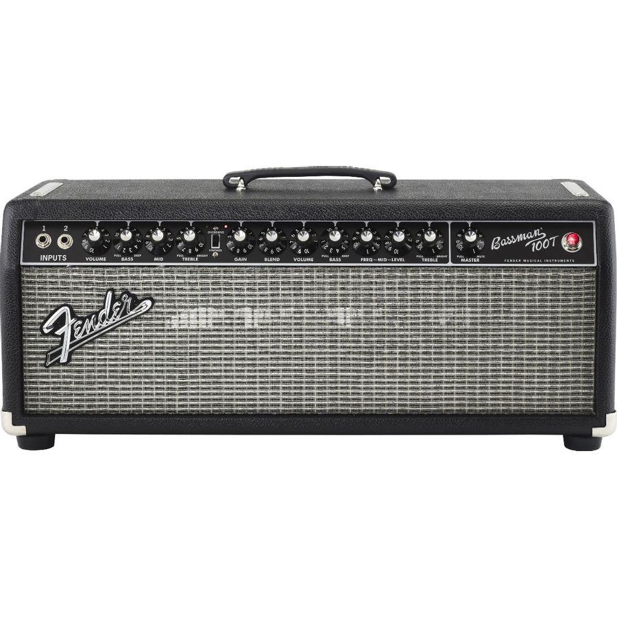 Cabezal-Fender-Para-Bajo-Bassman-100t-Hd-100watts-Con-Foot