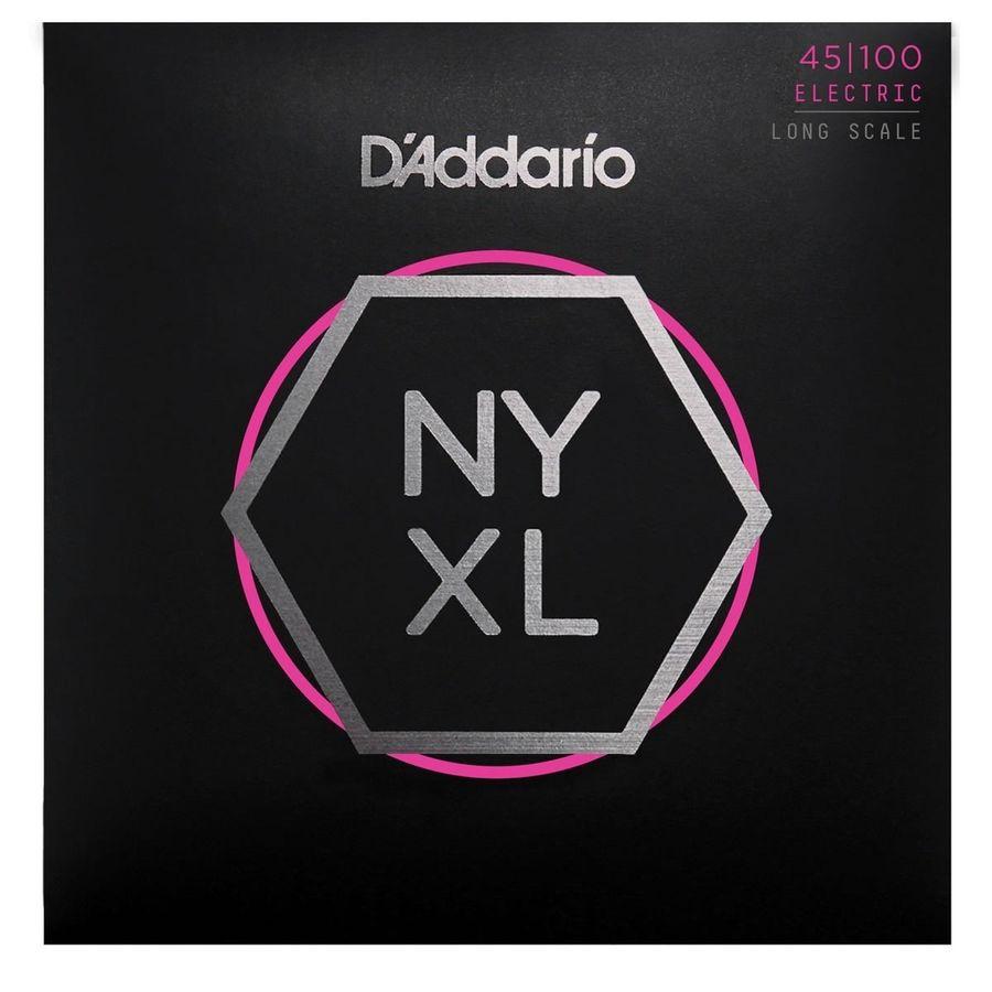 Encordado-Para-Bajo-4-Cuerdas-Daddario-New-York-Nyxl45100-Calibre-045---100-Tension-Normal-Fabricadas-En-Acero