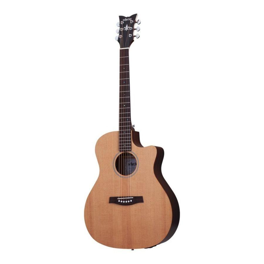 Guitarra-Electroacustica-Schecter-Deluxe-Acustic-Tapa-Spruce