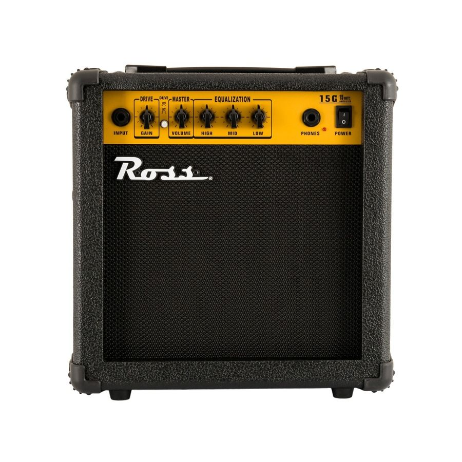 Amplificador-Para-Guitarra-Ross-G-15-Con-Distorsion-15-Watts