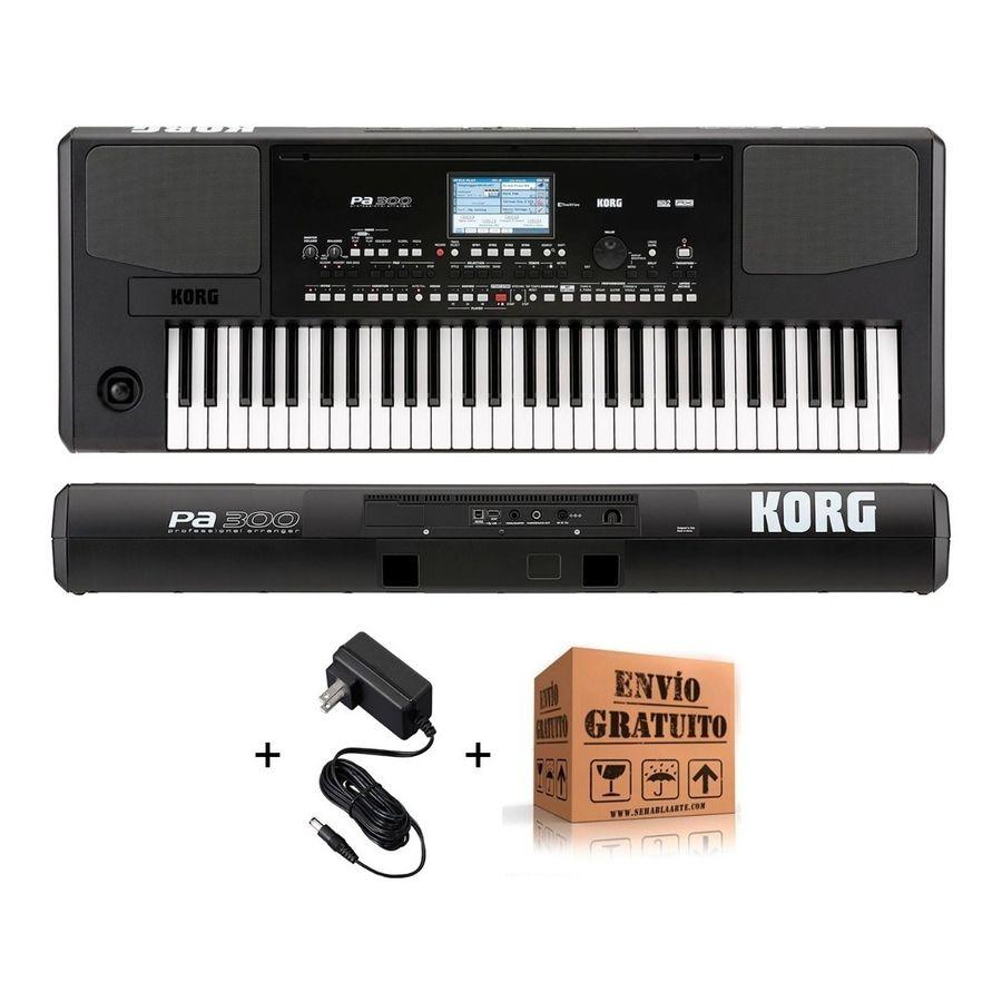 Teclado-Korg-Pa300-Arranger-5-Octavas-Pantalla-Tactil-Usb