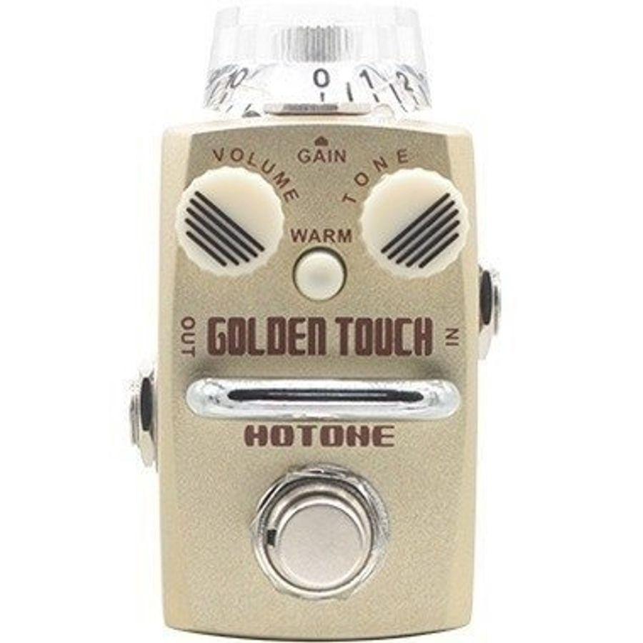 Pedal-Overdrive-Sonido-Saturado-Clasico-Hotone-Golden-Touch