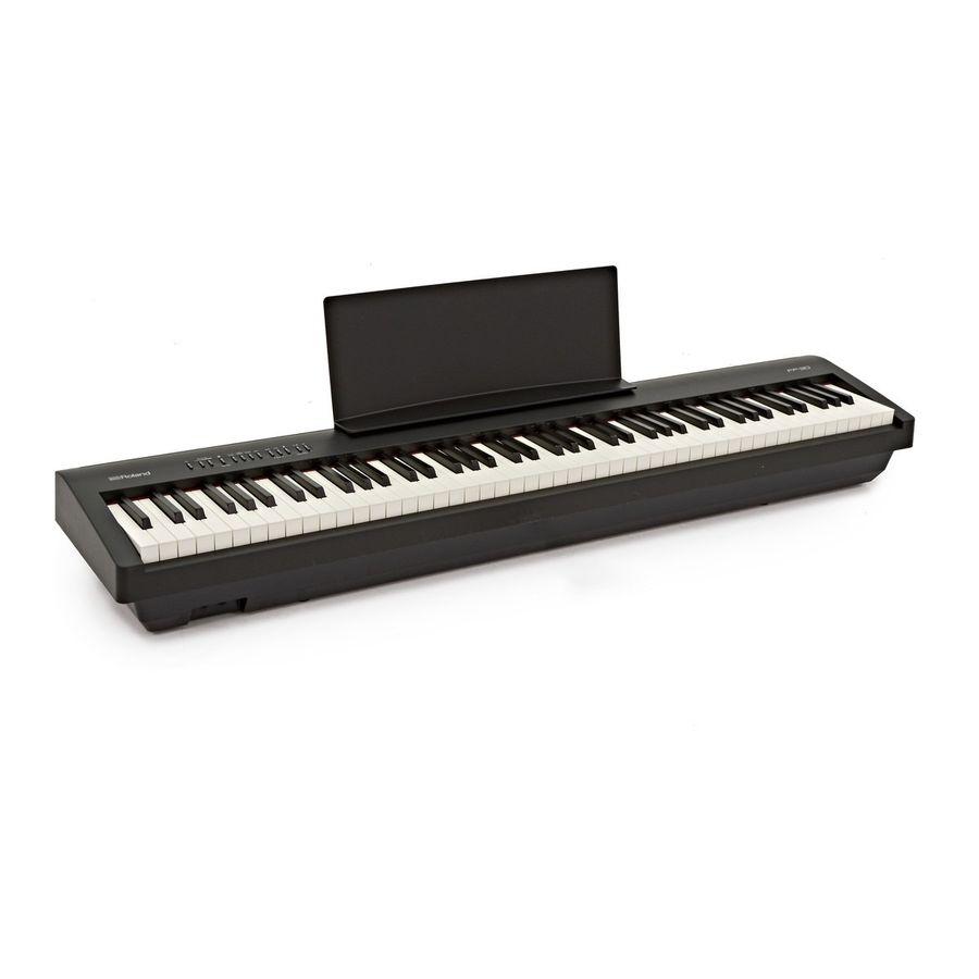 Piano-Digital-Roland-Fp30-88-Teclas-Pesadas-Parlantes
