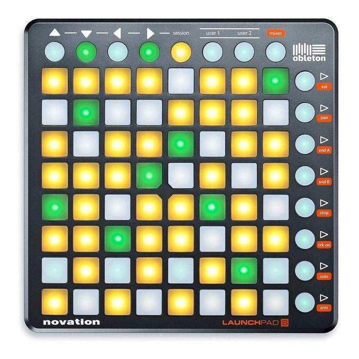 Controlador-Novation-Launchpad-S-Mk2-Ableton-Dj-Usb-Midi-Pads-De-64-Botones.-Incluye-Cable-Usb-Y-Conexion-Midi