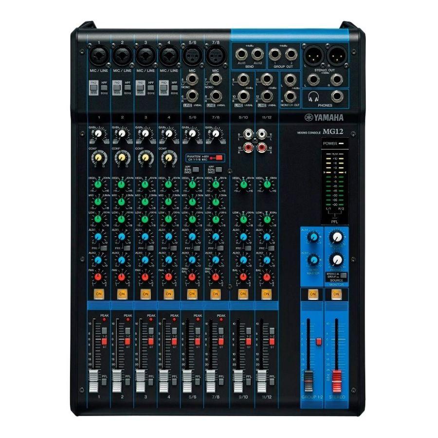 Consola-Profesional-Yamaha-Mg12-De-12-Canales-Phantom-1-Bus