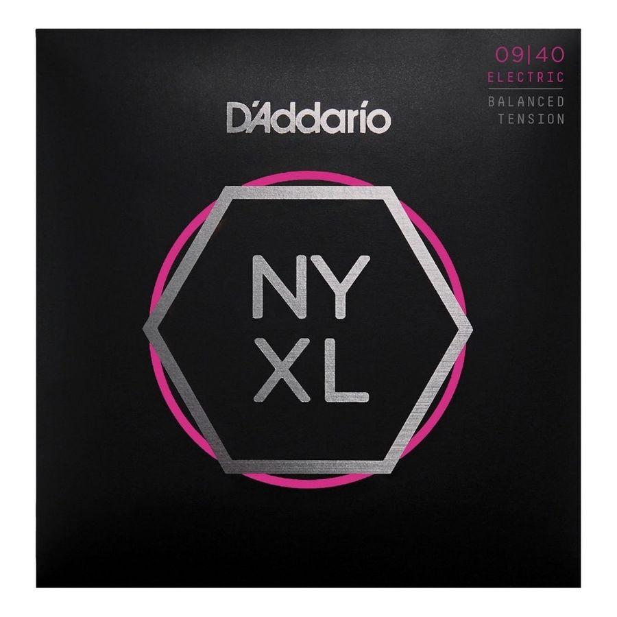 Encordado-Para-Guitarra-Electrica-Daddario-New-York-Nyxl0940bt-Calibres-09-040-Acero-Niquelado-Tension-Balanceada