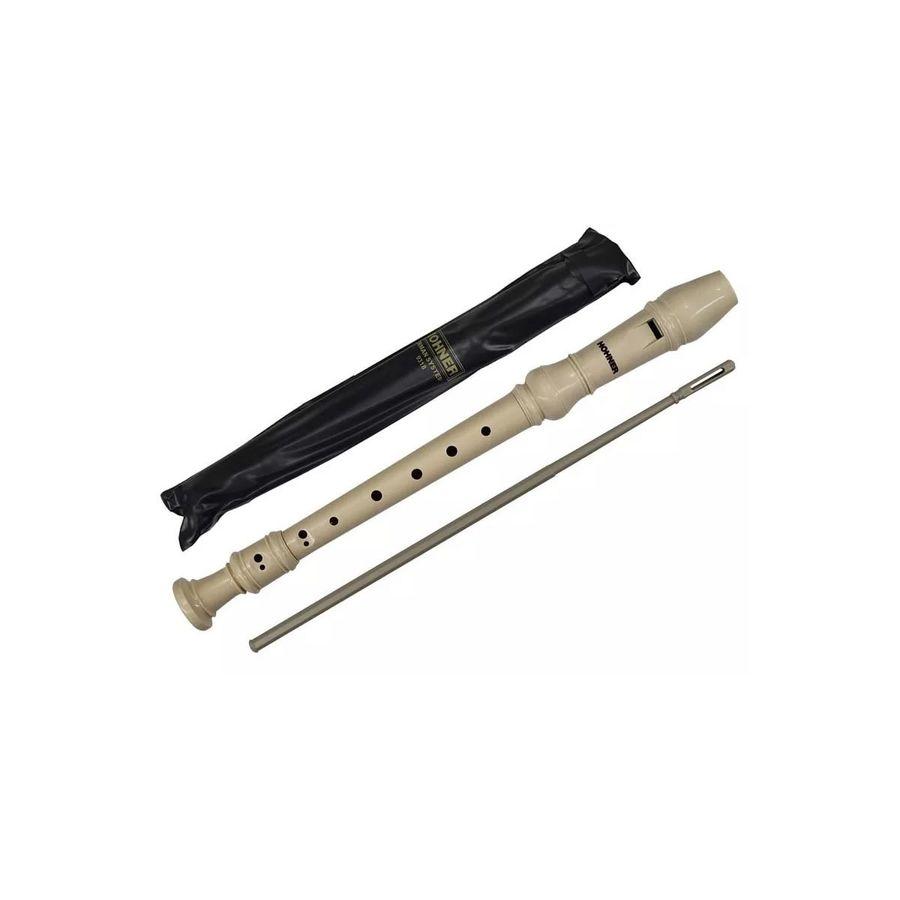 Flauta-Dulce-Escolar-Hohner-Soprano-Do-Aleman-Funda-Varilla