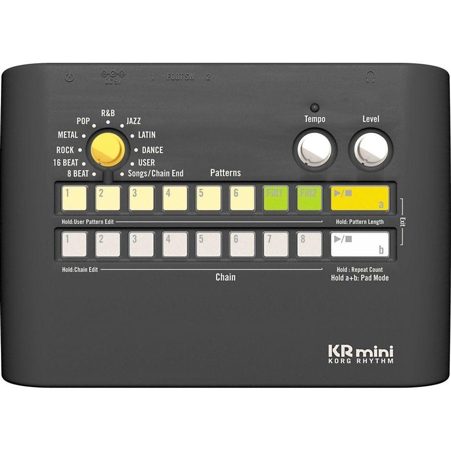 Maquina-De-Ritmos-Korg-Kr-Mini-Portable-Con-Parlante