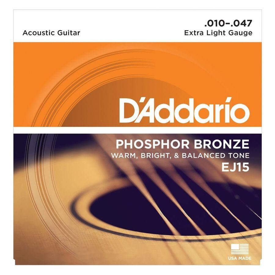 Encordado-Daddario-Ej15-Para-Guitarra-Acustica-010-Cuerdas