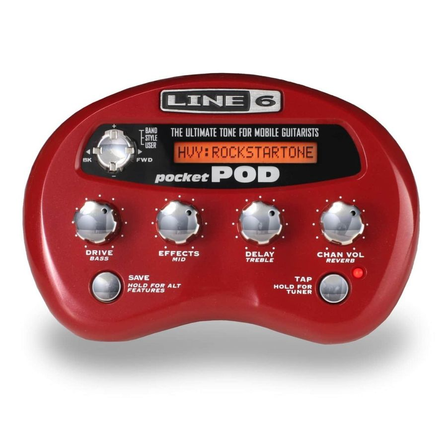 Procesador-Portable-Line-6-Modelo-Pocket-Pod-16-Efectos