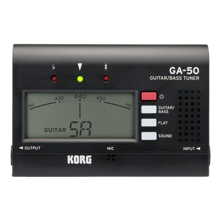 Afinador-De-Guitarra-Y-Bajo-Korg-Ga-50