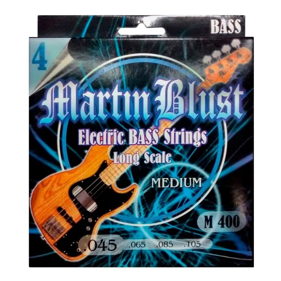 Martin-Blust-Encordado-Bajo-4-Cuerdas-045-105-Escala-Larga