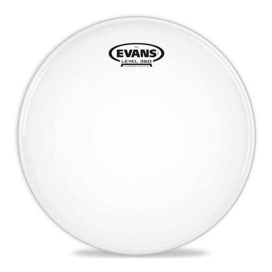 Parche-Para-Bateria-Evans-12-G12-Transparente-Capa-Doble-Tt12g12