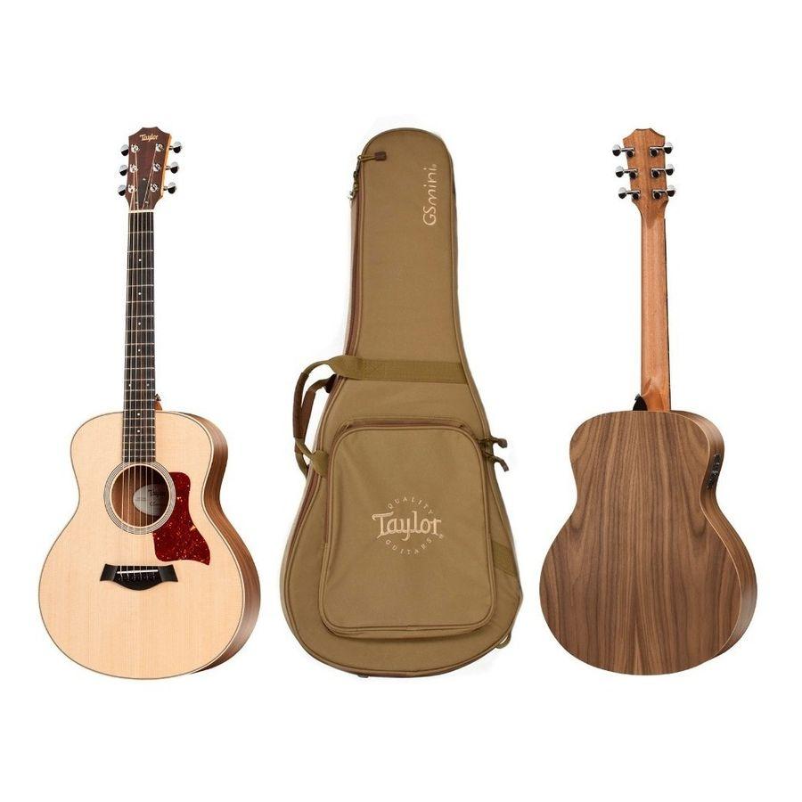 Guitarra-Acustica-Electroacustica-Con-Funda-Taylor-Gs-Mini-E