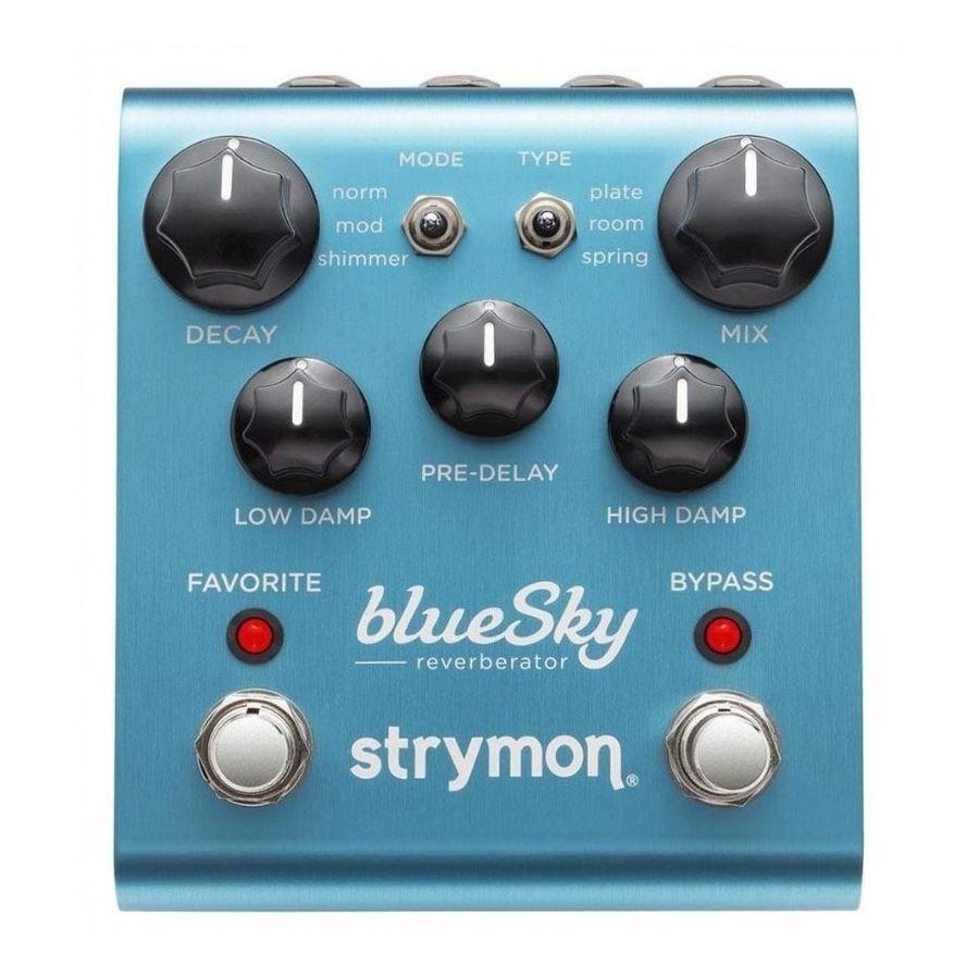 Pedal-De-Efectos-Strymon-Bluesky-Reverberator-Reverb-Fabricado-En-Usa-La-Fuente-Se-Vende-Por-Separado
