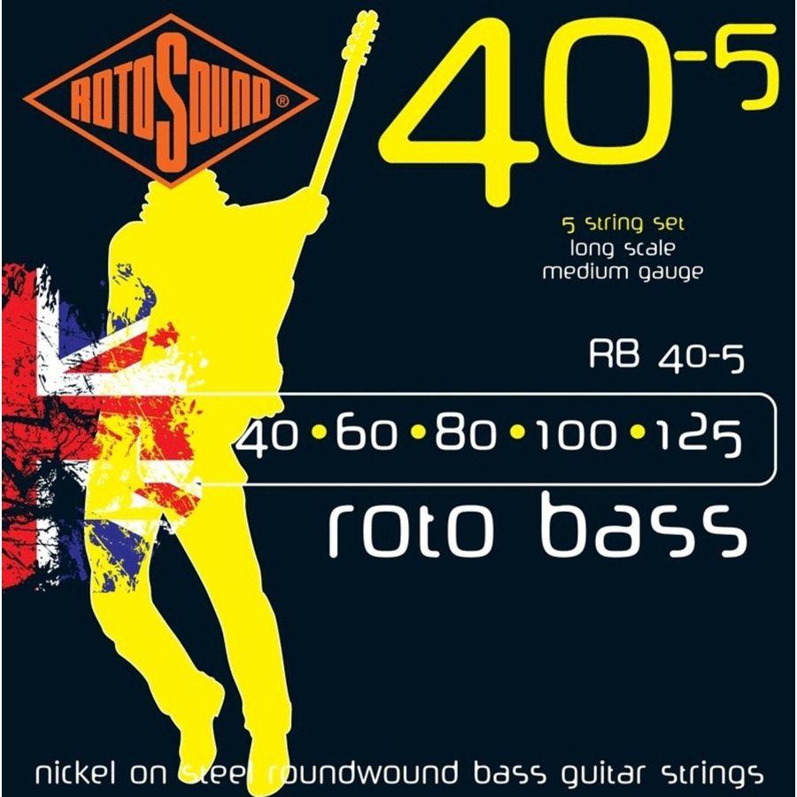 Encordado-Rotosound-England-Para-Bajo-5-Cuerdas-40-Rb40-5