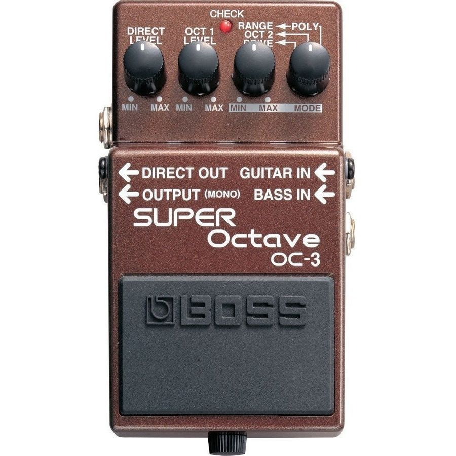 Pedal-De-Efectos-Para-Guitarra-Electrica-Boss-Super-Octavador-Oc3