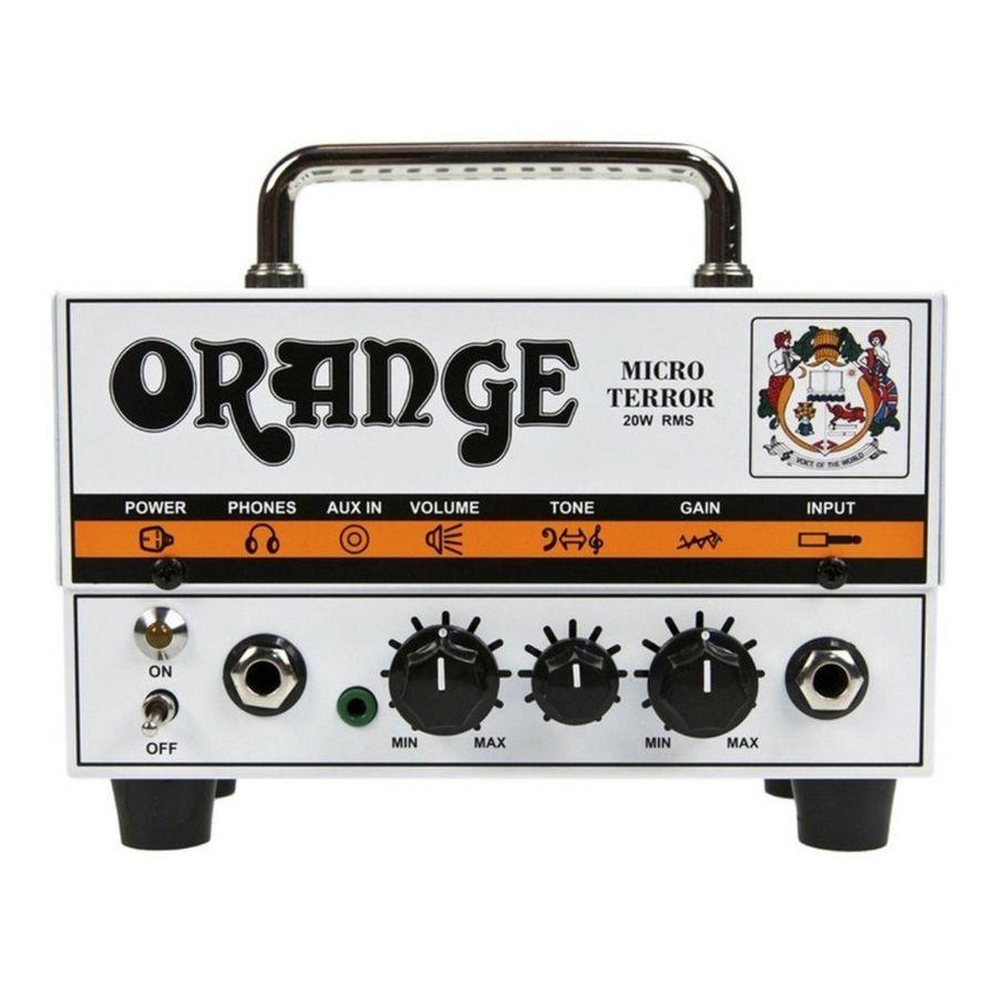 Cabezal-Orange-Micro-Terror-Pre-Valvular-20-Watts-Guitarra