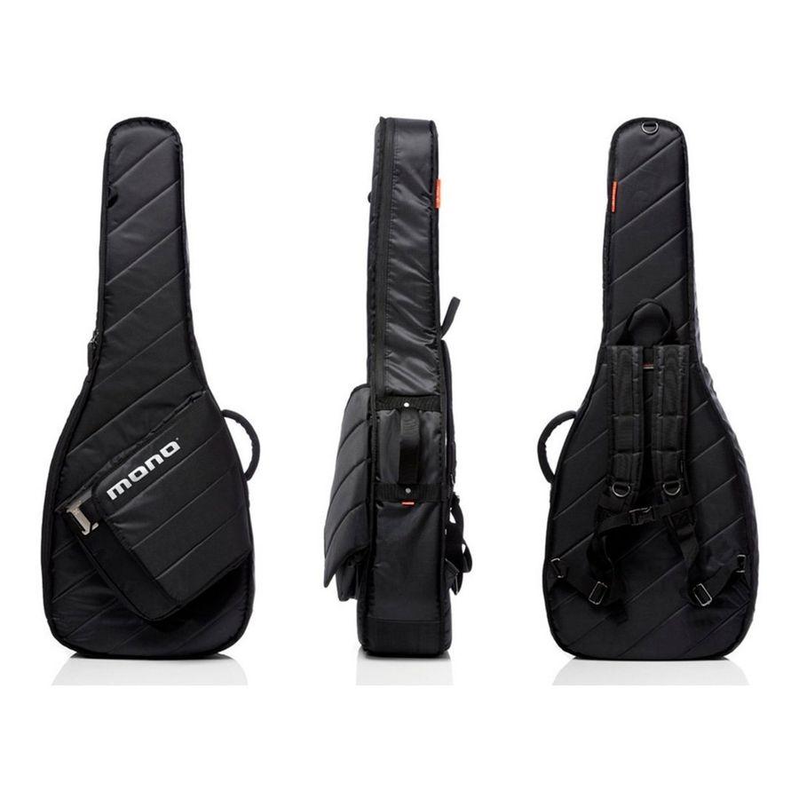 Funda-Guitarra-Acustica-Acolchada-Mono-M80-sad-blk-Sleeve