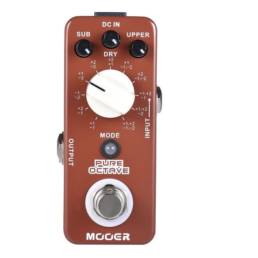 Micro-Pedal-Multi-Efecto-Mooer-Pure-Octave--Octavador