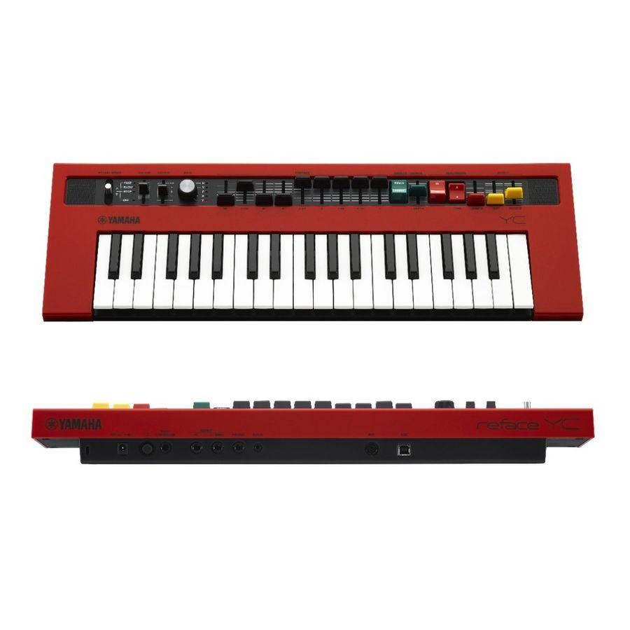 Yamaha-Organo-Reface-Yc-37-Teclas-Mini-Evoca-Al-Yc3