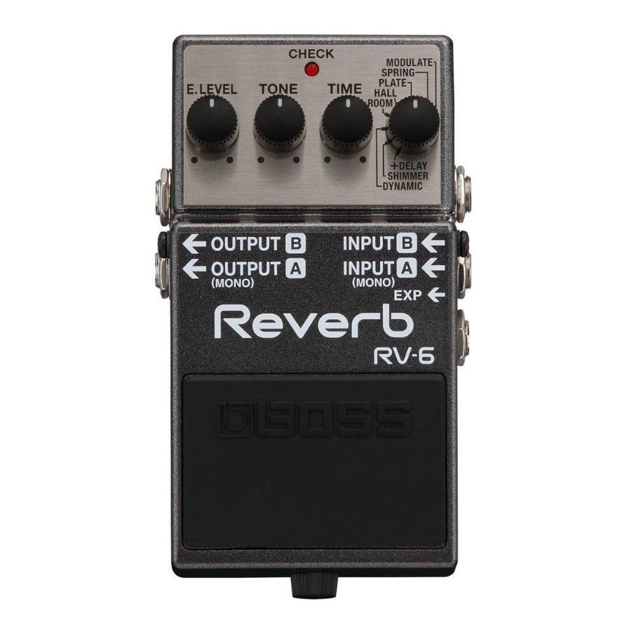 Pedal-Efecto-Para-Guitarra-Boss-Rv6-Digital-Reverb-Y-Delay