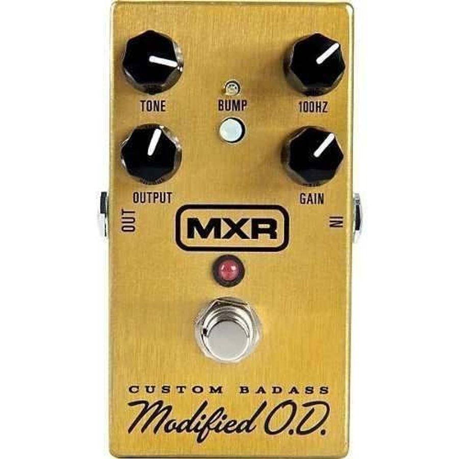 Pedal-De-Efecto-Mxr-M77-Custom-Badass-Modified-Overdrive