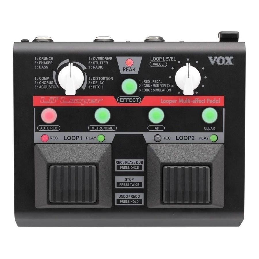 Pedal-Multiefecto-Vox-Lil-Looper-Vll1vll-1-De-Repeticion