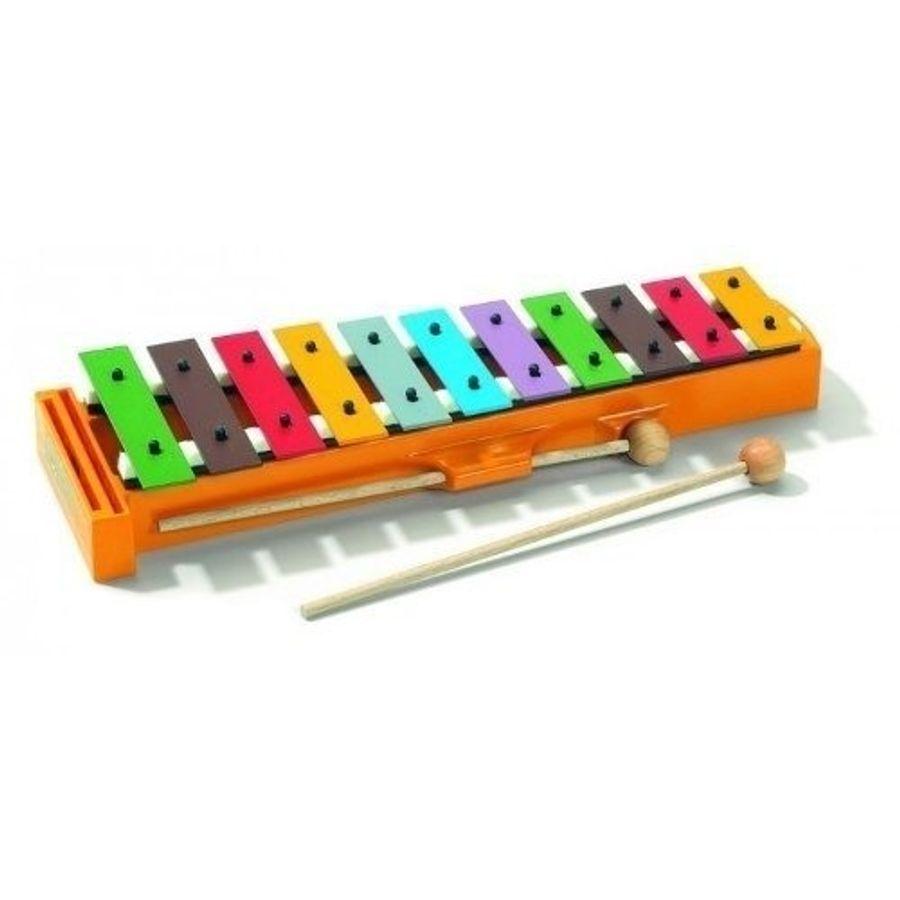 Sonor-Metalofon-De-Colores-Niños-11-Placas-Palillos-Gskinder