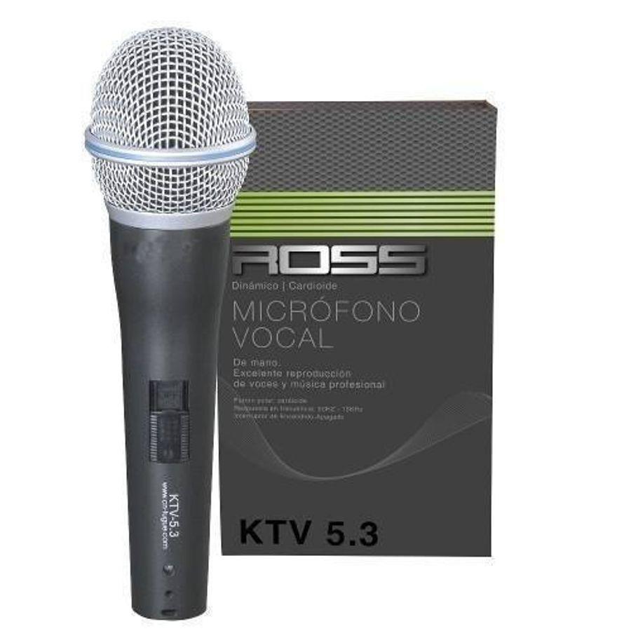 Microfono-Vocal-Metalico-Dinamico-Cardioide-Con-Cable-Ross
