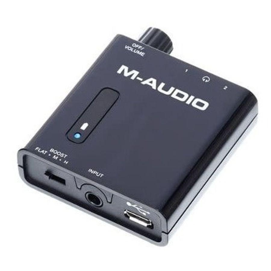 Amplificador-De-Auriculares-Portatil-M-Audio-Bass-Traveler