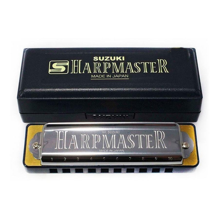 Armonica-Suzuki-Harp-Master-En-Re-Mr200-D-Con-Estuche