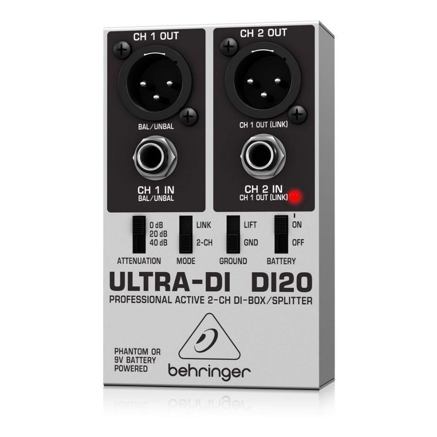 Behringer-Ultra-di-Di20-Caja-Activa-Directa-Direct-Box