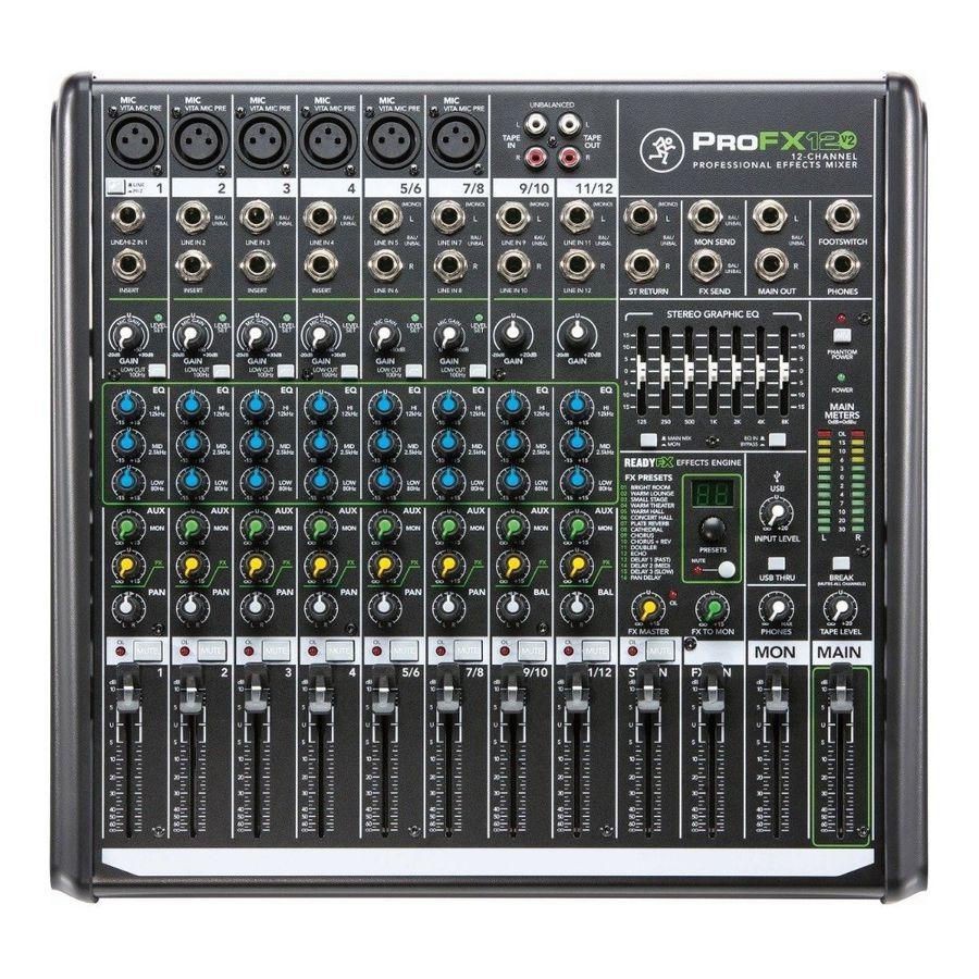 Mixer-12-Canales-Mackie-Proffx12v2-Eq-Grafico-7-Bandas