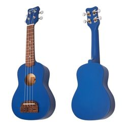Ukelele-Soprano-Kohala-Tiki-Uke---Colores-Amarillo-Azul-Rojo