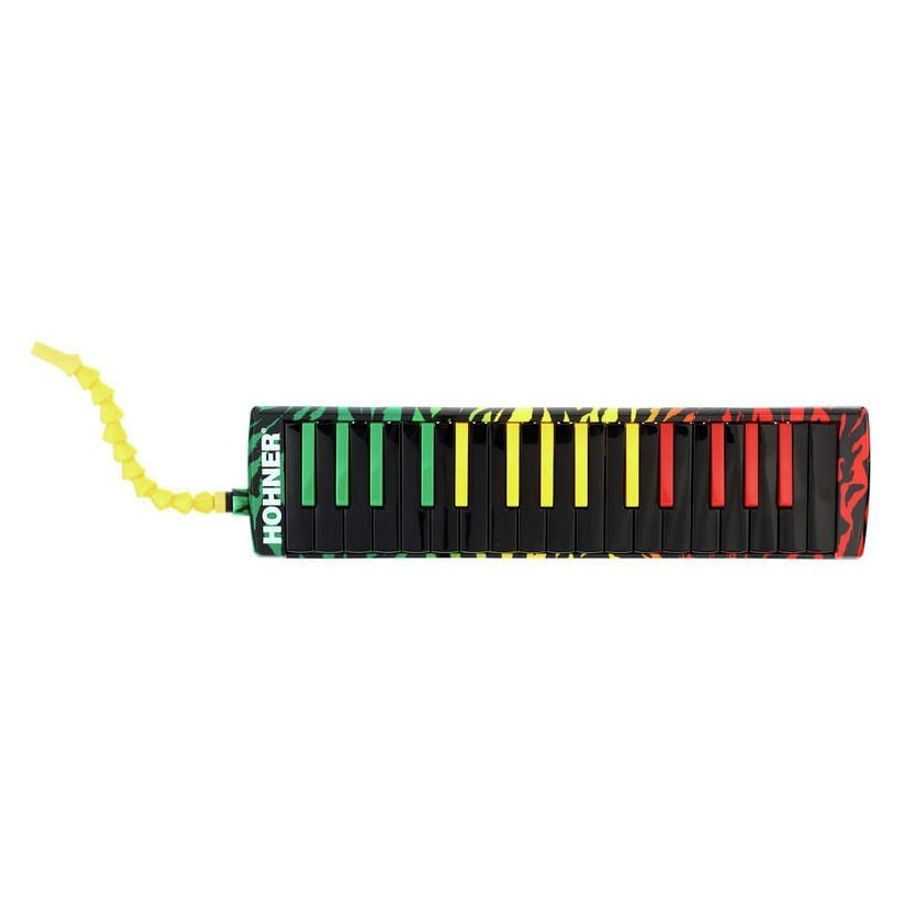 Flauta-Melodica-Hohner-Airbord-Rasta-32-Notas-Con-Funda