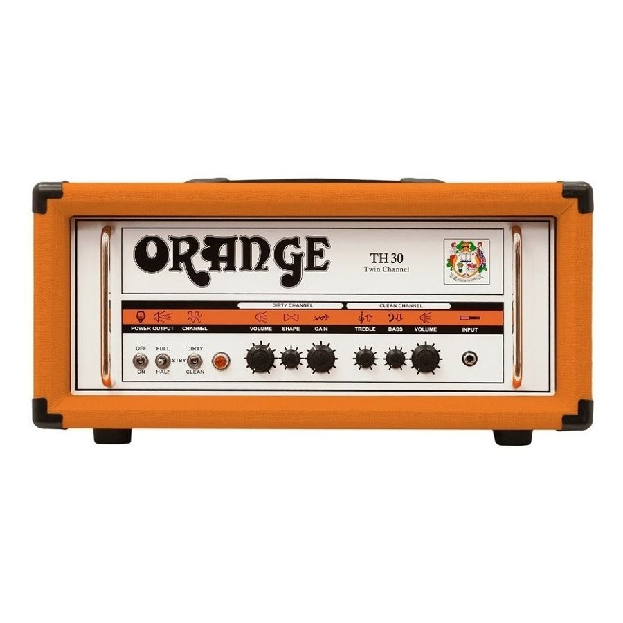 Cabezal-De-Guitarra-Valvular-Orange-De-30-Watts-Th-30-Head