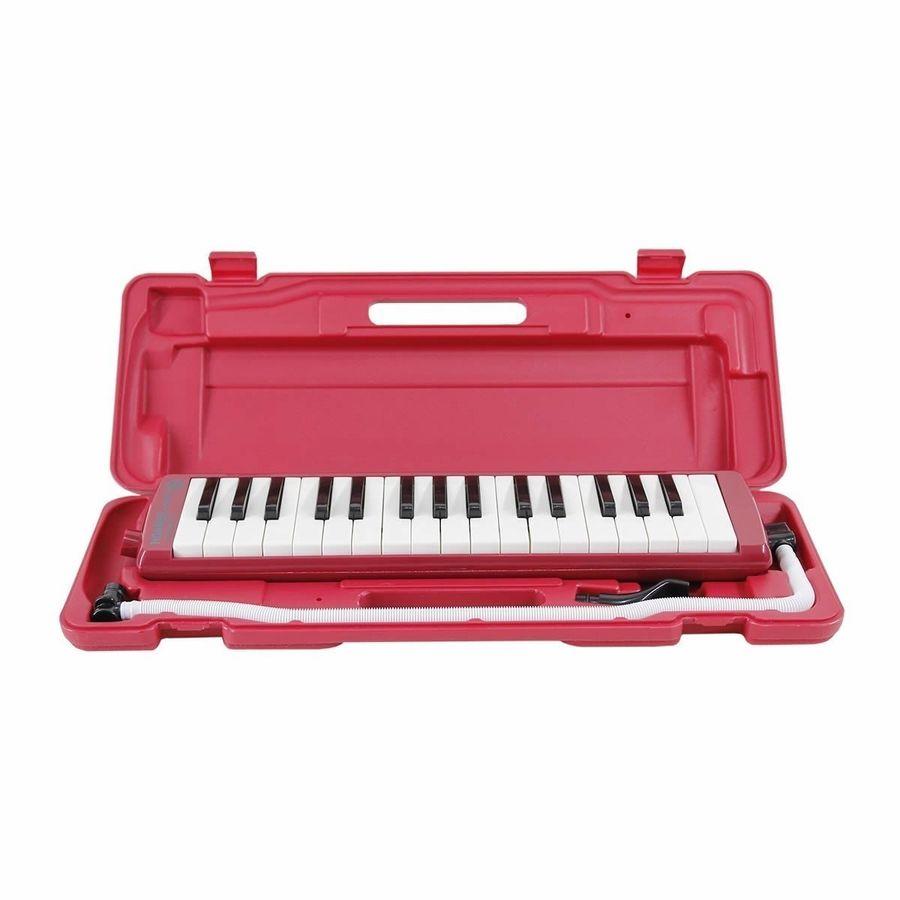 Pianica-Melodica-Hohner-Student-32-Red-Roja-Estuche-Boquilla