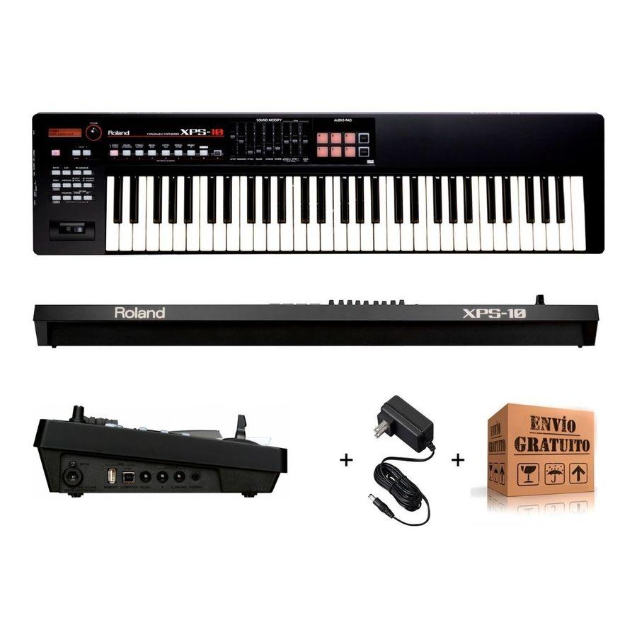 Sintetizador-Roland-Xps10-5-Octavas-Pads