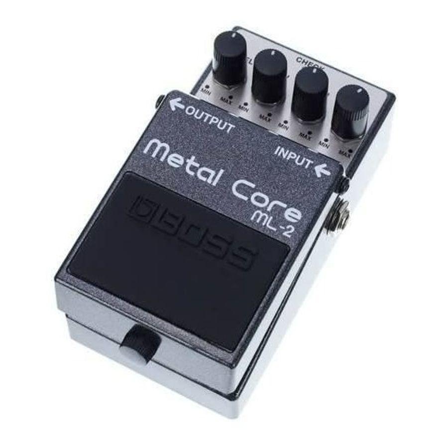 Pedal-Boss-Metal-Core-Heavy-Distortion-Ml2-Para-Guitarra-Ultra-Pesado-Con-Ataque-Afilado