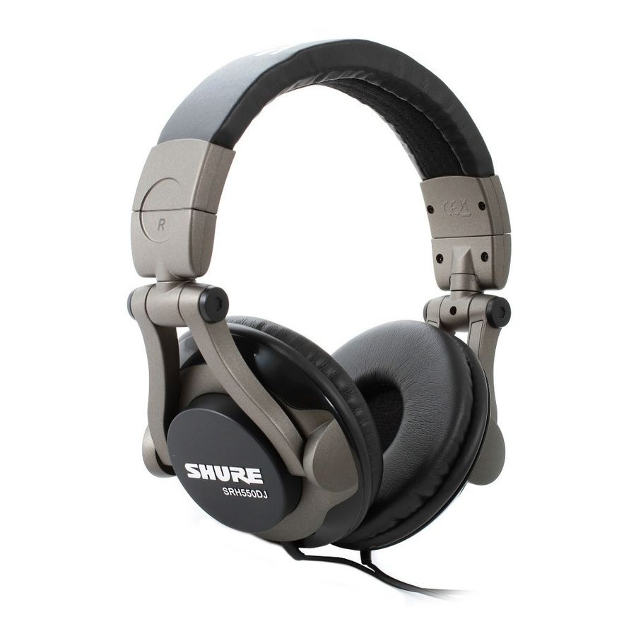 Auricular-Profesional-Shure-Srh-550--Para-Grabacion-O-Dj