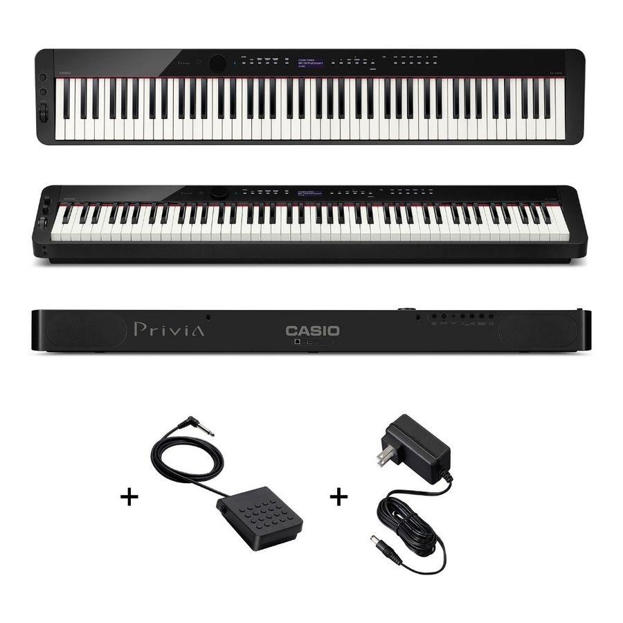 Piano-Casio-Privia-Px-s3000-88-Teclas-Accion-Martillo