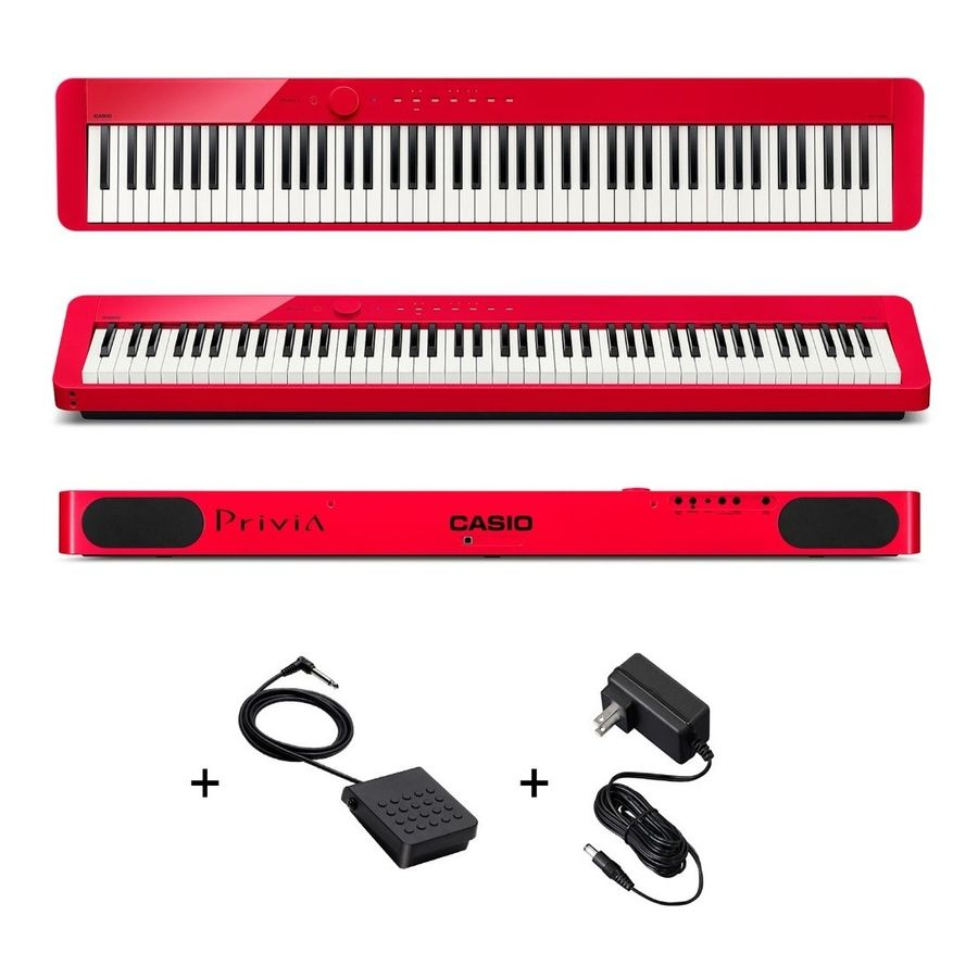Piano-Casio-Privia-Px-s1000-88-Teclas-Accion-Martillo