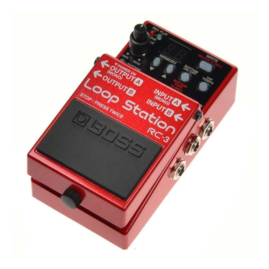 Pedal-Sampler-Boss-Rc3-Loop-Station-Hasta-3-Hs-De-Grabacion