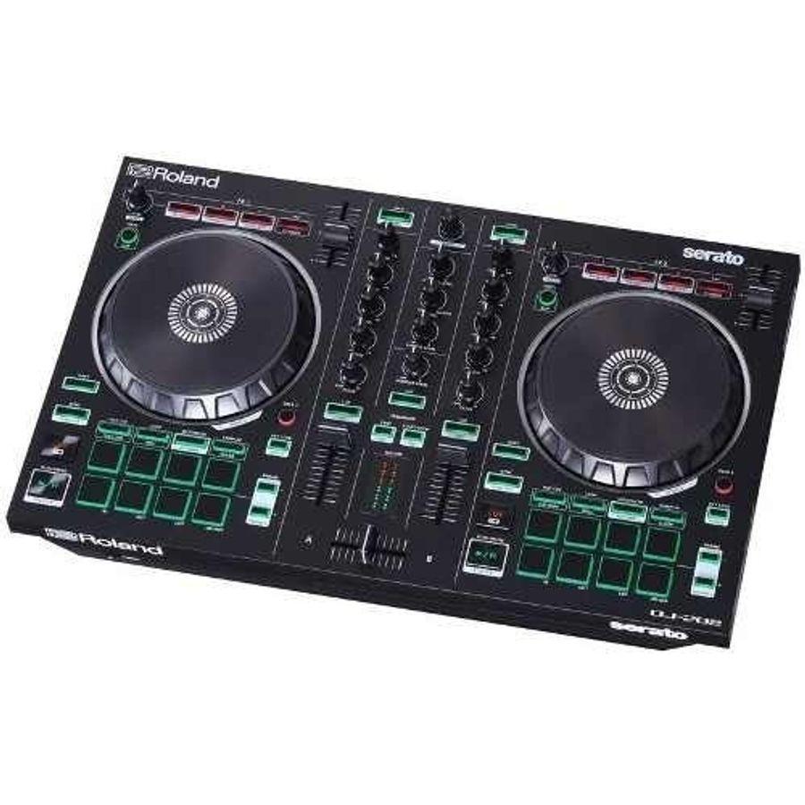 Controlador-Dj-2-Canales-Para-Serato-4-Decks-Roland-Dj-202