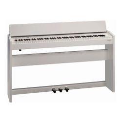 Piano-Electrico-Roland-F140r-Whl-Teclas-Contrapesadas-Blanco