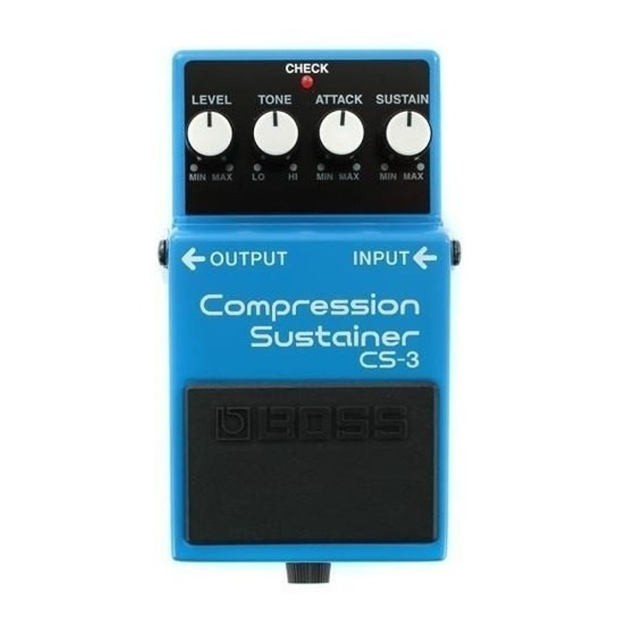 Pedal-Para-Guitarra-Electrica-Boss-Compressor-Sustainer-Cs-3