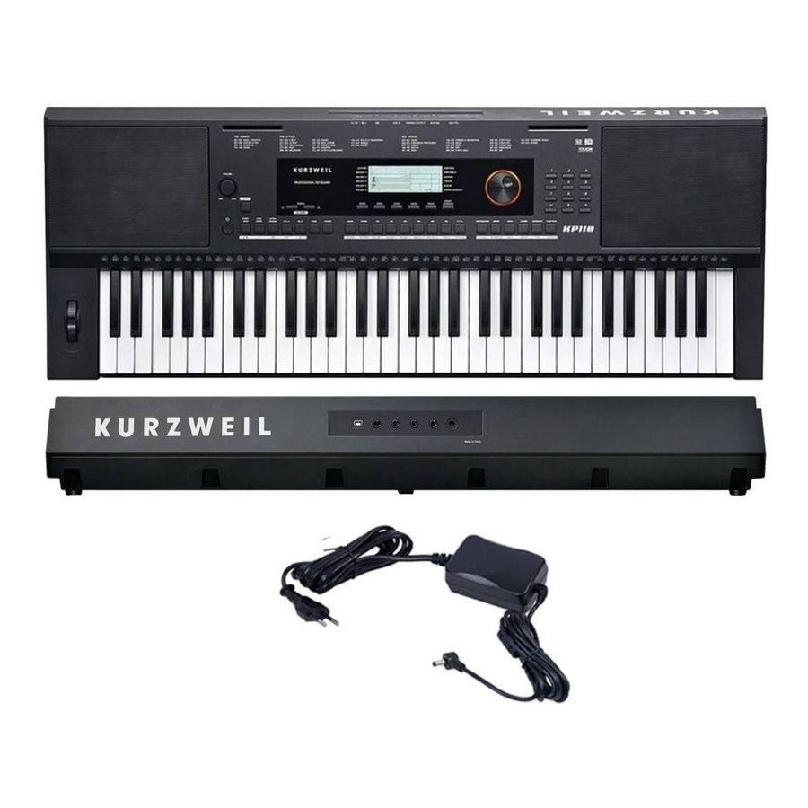 Teclado-Kurzweil-Kp110-61-Teclas-5-Octavas-Sensitivo-Digital