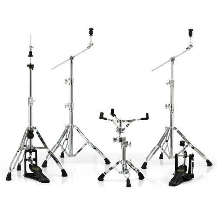 Set-De-5-Fierros-Mapex-Armory-Hp8005-Pata-Doble-Cromados