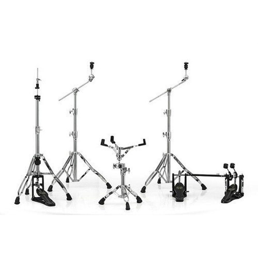 Set-De-5-Fierros-Mapex-Armory-Hp8005-dp-Doble-Pedal-Cromados